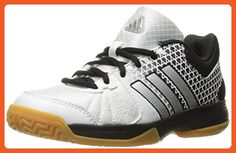 new arrival dfcb5 c0986 adidas Womens Shoes  Ligra 4W Volleyball, WhiteMatte SilverBlack, (
