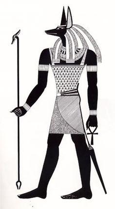 Anubis Egyptian Mythology, Egyptian Symbols, Ancient Egyptian Art, Ancient Aliens, Egyptian Mummies, Egyptian Costume, Maat Goddess, Egypt Tattoo, African Royalty