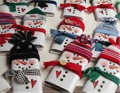 Resultado de imagen para manualidades navideñas para regalar