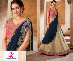 A family wedding is one of the ultimate joyful moments of our life. The Ghagra choli you need has to be special to cherish those wonderful moments. The gorgeous Weaved silk with raw silk blouse is enhanced with gorgeous thread, zari and cord embroiday. It is accompanied with a Lycra silk dupaata.  It can be stitched in all sizes small medium large and extra large. Minimum 28 inches to maximum 44 inches chest size. Party Wear Lehenga, Ghagra Choli, Sari, Joyful, Blouse, How To Wear, Medium, Wedding, Life