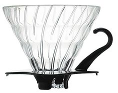 Hario VDG-02B V60 Glass Coffee Dripper, Black Hario,http://www.amazon.com/dp/B002VUSWGQ/ref=cm_sw_r_pi_dp_L2LQsb19M8ZXKF7J