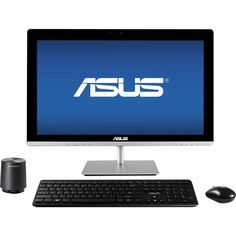 "Asus - 23"" Touch-Screen All-In-One Computer - Intel Core i5 - 8GB Memory - 1TB Hard Drive - Front Zoom"