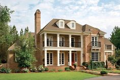 French doors galore in this Forest Glen house plan