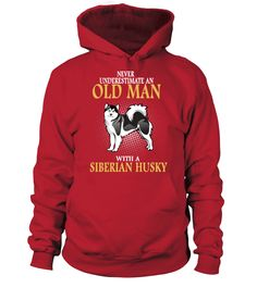 """Not Available In Stores - Limited Time Offer Available in Hoodie, T-shirt & Long Sleeve!     HOW TO ORDER?     1. Select style and color  2. Click """"""""Buy It Now""""""""  3. Select size and quantity  4. Enter shipping and billing information  5. Done!  Woman:https://www.teezily.com/old-woman-siberian-husky    TIP: SHARE it with your friends, order together and save money on shipping."""