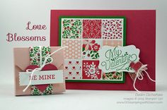 New Occasions Catalog Love Blossoms Control Freaks Tour card created by Dawn Olchefske #dostamping #stampinup