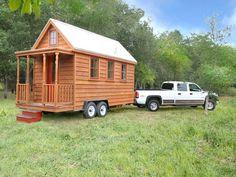 tumbleweedhouses.com tiny portable homes Bedroom & Sleeping loft 117 square feet Ready made: $50,000          Build it yourself: $21,150
