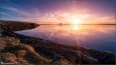 Iceland, landscape, photography, nature, travel, Images Beyond Words, Serge Daniel Knapp, sunset, Myvatn, lake, cold, beach, windless, art