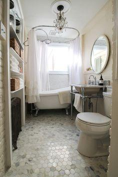 Eclectic Bathroom by Michaela Dodd