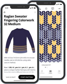 Knit with Bellish. Create your custom sweater with the free Bellish knitting app. Start knitting in minutes! Sweater Knitting Patterns, Free Knitting, Knitting Sweaters, Crochet Patterns, Sac Week End, Crochet Bookmarks, Make Your Own Clothes, How To Start Knitting, Sweater Making
