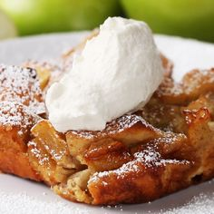 Apple Cinnamon French Toast Bake Recipe by Tasty