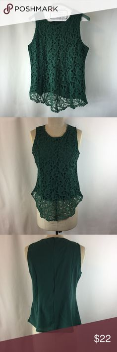 """🌲Oioninos // Forest Green Crochet Lace Top // NWT Condition: New with tags, excellent condition. Does not come from a fragrance free home.   Tag says Size 5XL (20-22 US) however it appears to me to be more of an XL. *Please review the measurements below carefully to determine git and sizing*  Approximate Measurements: Bust 38"""" Waist 36"""" Length 22""""  ✅Bundle discounts ✅ Will consider reasonable offers 🚫No trades ✉️Please let me know if you have questions, I'm happy to answer.  📷 Check out…"""