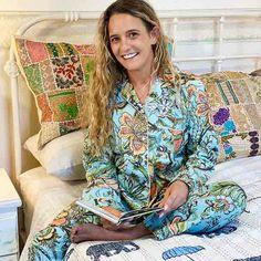 Cotton Women's Designer Sleepwear - Cotton Pajama's Yummy Linen