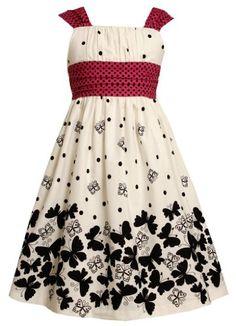 Size-18.5, Fuchsia, BNJ-2529M, White Black Pink Butterfly Border Print Dress,Bonnie Jean Girl Plus-Size Special Occasion Party Dress Bonnie Jean,http://www.amazon.com/dp/B00DE10CLE/ref=cm_sw_r_pi_dp_EijXrb242F9B4C95