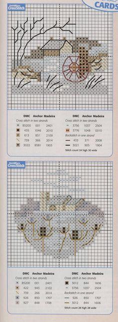 Schema punto croce Idee 468