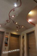 watercolour grey - fototapeter & tapeter - photowall | sågargatan ... - Muster Deckengestaltung