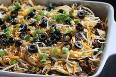 Good Mexican casserole and wheat belly friendly. Sub ground beef for Yves veggie ground round. No Carb Recipes, Mexican Food Recipes, Real Food Recipes, Diet Recipes, Cooking Recipes, Healthy Recipes, Flour Recipes, Wheat Belly Recipes, Wheat Free Recipes