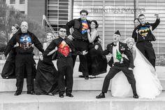 Superhero Wedding Party :)