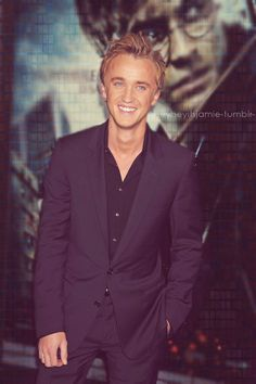 i used to have the biggest crush on Tom Felton. hahaha :)