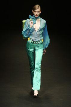 Silvia Tcherassi at Milan Fashion Week Fall 2004