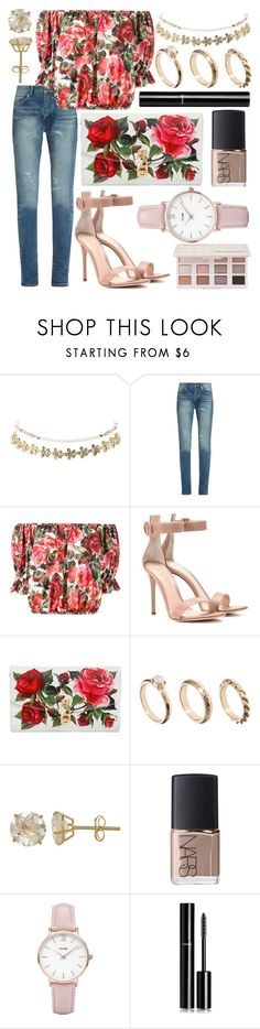 """""""275."""" by plaraa on Polyvore featuring Charlotte Russe, Yves Saint Laurent, Dolce&Gabbana, Gianvito Rossi, ASOS, Everlasting Gold, NARS Cosmetics, CLUSE, Chanel and Too Faced Cosmetics"""