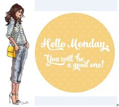 Have a good Monday! ♥