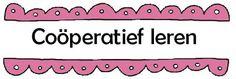 cooperatief leren, rollen verdeling + uitleg http://cooperatieflerenleren.blogspot.nl/2010/04/gemaakte-materialen-door-isolde.html