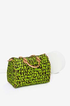 Vintage Louis Vuitton Stephen Sprouse Leather Bag | Shop What's New at Nasty Gal