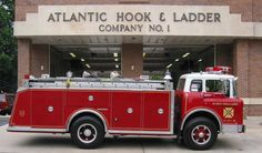 us Port Washignton,WI Atlantic Hook&Ladder Ford SaulsburyLight&Rescue 1980