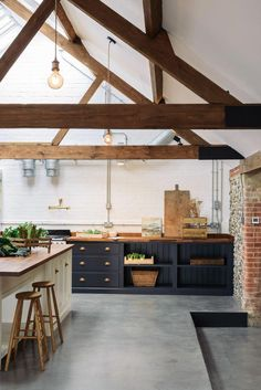 Take a look at this brilliant photo - what an innovative design and style #Kitchents