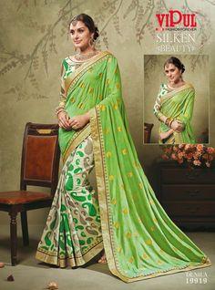 #VipulFashions #FashionForever #saree #sari #fashion #Silken #Beauty #catalog