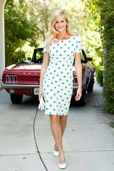 Shop for sophisticated sheath dresses with cute polka dot prints online at Shabby Apple. Find vintage and retro style modest clothing for women in all colors, sizes, fabrics and styles!