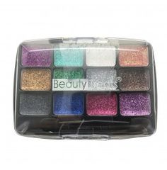 BEAUTY TREATS 12 Colors Glitter Palette