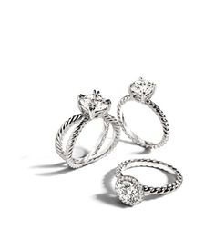 David Yurman Engagement Ring <3 it!