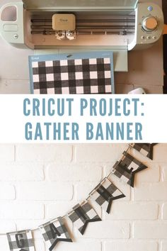 Cricut beginners, this is a great Cricut project Cricut DIY for you! Learn how to make a paper banner with your Cricut Explore Air projects cricut Cricut DIY Project Paper Banner How To Use Cricut, How To Make Banners, Cricut Explore Projects, Cricut Explore Air, Circuit Projects, Vinyl Projects, Ideas For Cricut Projects, Cricut Craft Room, Paper Banners