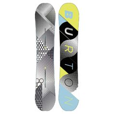 Burton Dejavu Flying V Snowboard  Price: £335  Stockist: Snow + Rock  The Burton Déjà Vu Flying V all-mountain board packs in some of Burton's best features, making it an absolute steal for riders looking for a lot of board for their money. Plus its looks beautiful too!