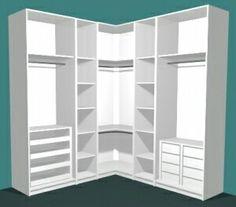 closet layout 407223991308267397 - Master Bedroom Closet Layout Wardrobes 31 Ideas Source by Corner Wardrobe, Wardrobe Design Bedroom, Master Bedroom Closet, Bedroom Wardrobe, Wardrobe Closet, Bedroom Decor, Bedroom Cupboards, Closet Layout, Closet Remodel