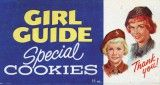 Girl Guides of Canada Cookie Box 1962