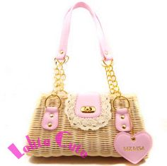 fashion rattan handbag