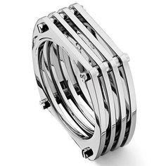 Titanium Mesh Men's Band Ring: Jewelry: Amazon.com