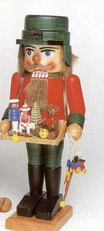 Handmade German Nutcracker Toy Salesman