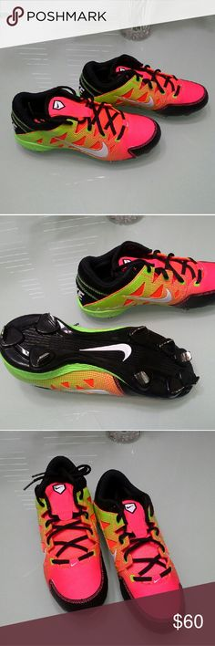 🆕 Nike Hyperdiamond strike mtl Brand new with box. Beautiful colors. Nike Shoes Athletic Shoes