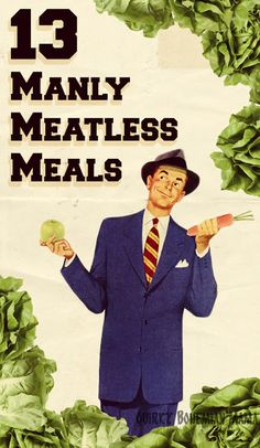 Quirky Bohemian Mama| 13 Manly Meatless Meals {Easy hearty vegetarian recipes)