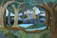 Midnight-in-the-firefly-forest - Melissa Launay