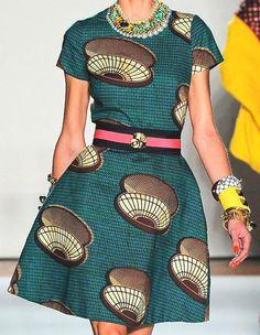 Woman collection spring / summer 2013 Stella Jean, a young designer Italo-Haitian