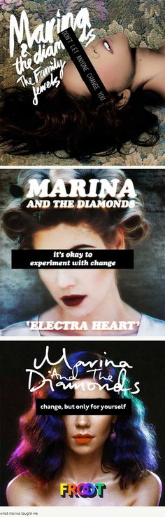 Marina and the Diamonds (edits by understudier)