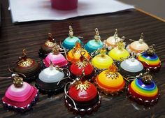 Quilling jhumkas #collection #colorful