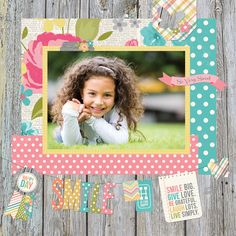 Simple Stories - Vintage bliss collection layout  CHA Winter 2013 - SNEAK PEEK #2 - Simple Stories