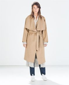 ZARA - WOMAN - HAND MADE BELTED COAT