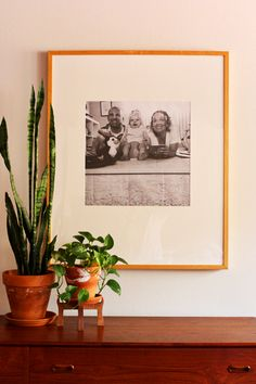 engineer prints in giant frame