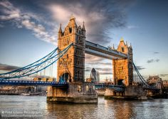 Great photo of London's Tower Bridge | Photo credit Fred Adams using the Canon EOS Mark II